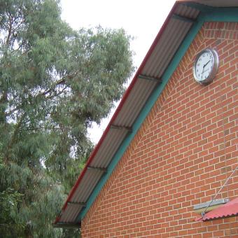 Roseville School Outdoor Clock