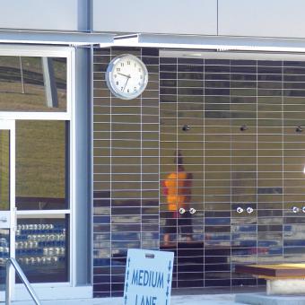 Macquarie Uni Outdoor Wall Clock